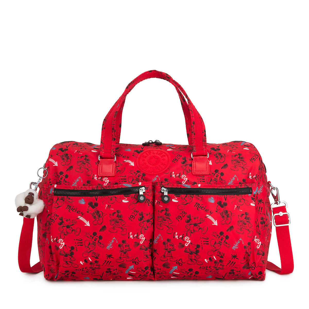 Product Image of Mickey Mouse Sketch Art Duffle Bag by Kipling   1 0a2a7fa046a48