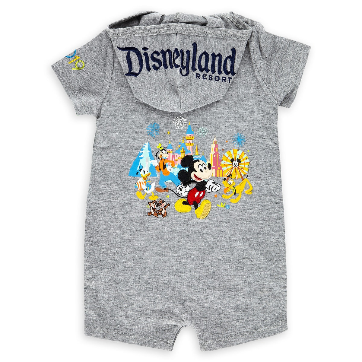1a4399217 Product Image of Mickey Mouse and Friends Romper for Baby - Disneyland 2019  # 2