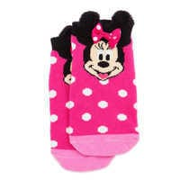 디즈니 미니마우스 앵클삭스 Disney Minnie Mouse Ankle Socks for Girls - Pink