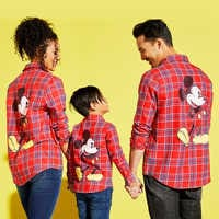 Image of Mickey Mouse Flannel Shirt for Kids by Cakeworthy # 2