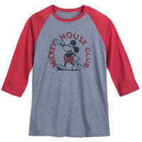 Image of Mickey Mouse Club Raglan T-Shirt for Adults # 1