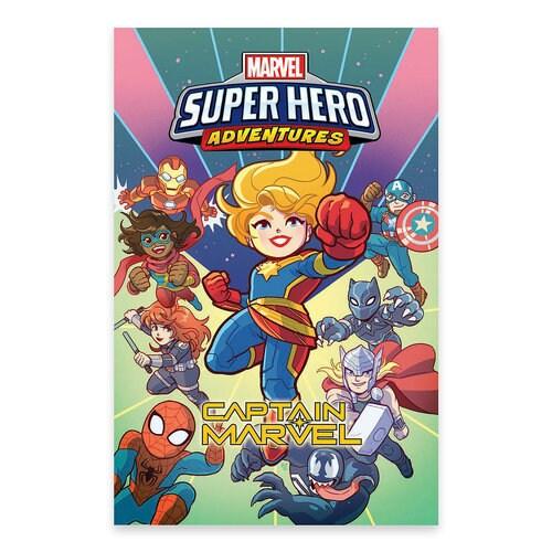 Captain Marvel - Marvel Super Hero Adventures Comic Book