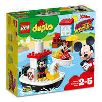 Image of Mickey Mouse Boat Duplo Playset by LEGO - Mickey and the Roadster Racers # 6