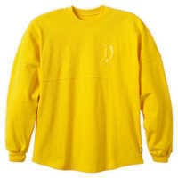 Image of Disneyland Spirit Jersey for Adults - Dapper Yellow # 1