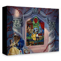 Image of Beauty and the Beast ''Enchanted Love'' Giclée on Canvas by Jared Franco # 1