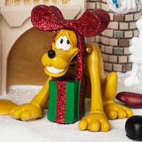 Image of Mickey Mouse and Friends at Cinderella Castle Holiday Figure - Walt Disney World # 4