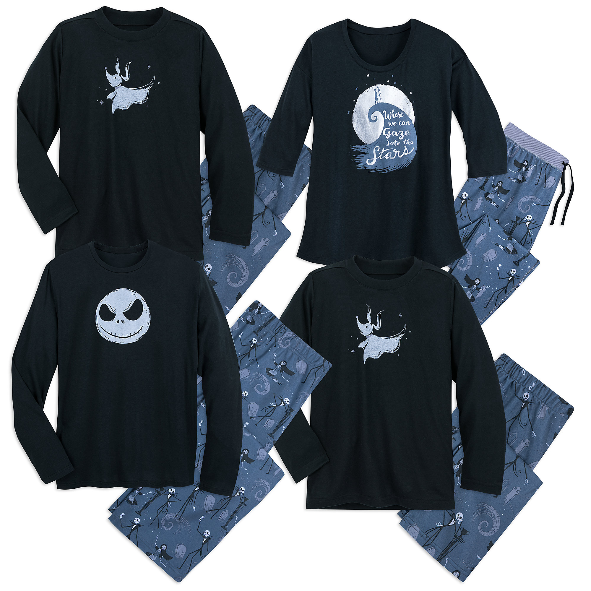 Tim Burton's The Nightmare Before Christmas Family Sleepwear Collection - Munki Munki