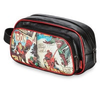 Iron Man and Spider-Man Toiletry Bag