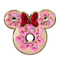 Image of Minnie Mouse Donut Pin # 1