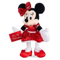 Minnie Mouse Plush - Valentine's Day - Small