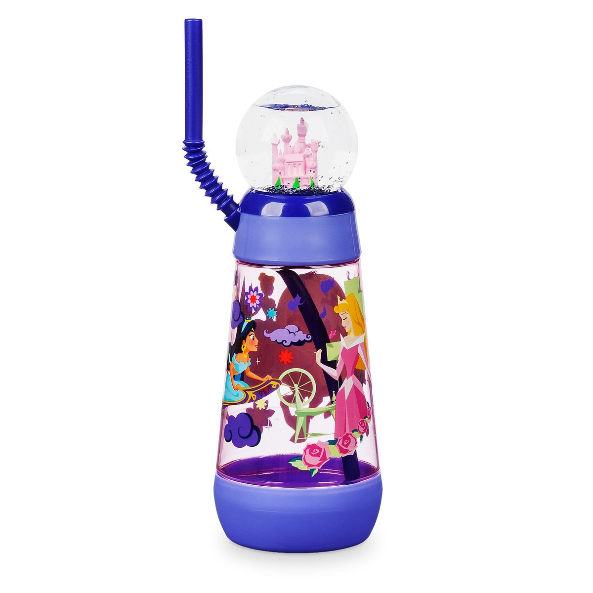 45e1d7e1233 Disney Princess Snowglobe Tumbler with Straw