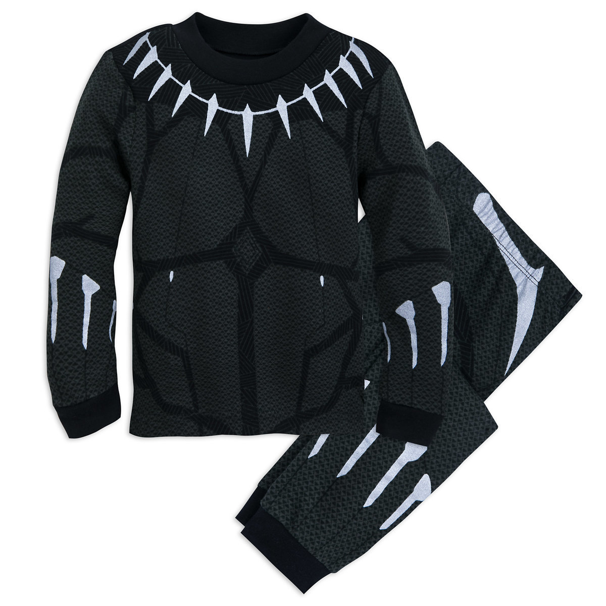 288b8281 Product Image of Black Panther Costume PJ PALS for Boys # 1