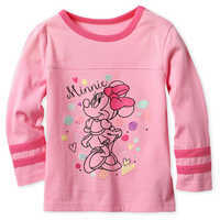 Image of Minnie Mouse Long Sleeve T-Shirt for Girls # 1