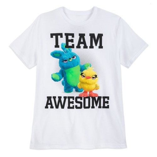 Ducky and Bunny ''Team Awesome'' T-Shirt for Adults - Toy Story 4