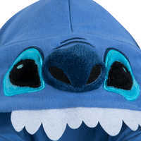 Image of Stitch Costume Zip Hoodie for Kids # 3