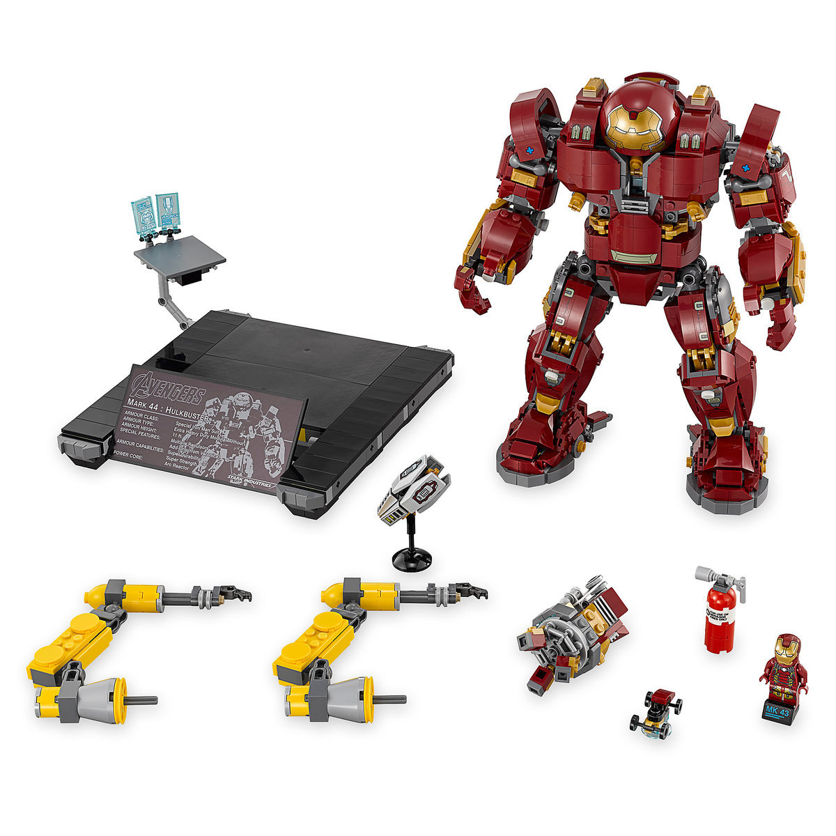 the hulkbuster ultron edition playset by lego marvel s avengers