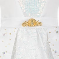 Image of Ariel Designer Wedding Gown Costume for Kids # 5