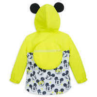 Image of Mickey Mouse Packable Rain Jacket and Attached Carry Bag for Kids # 3