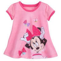 Image of Minnie Mouse Shorts Sleep Set for Girls # 2