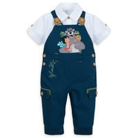 The Jungle Book 2-Piece Dungaree Set for Baby