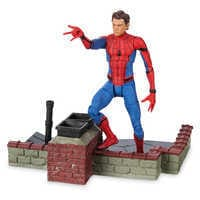 Image of Spider-Man Action Figure - Marvel Select - Spider-Man: Homecoming - 7'' # 4