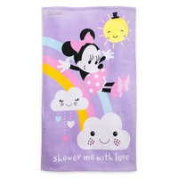Image of Minnie Mouse Swim Towel for Baby - Personalizable # 1