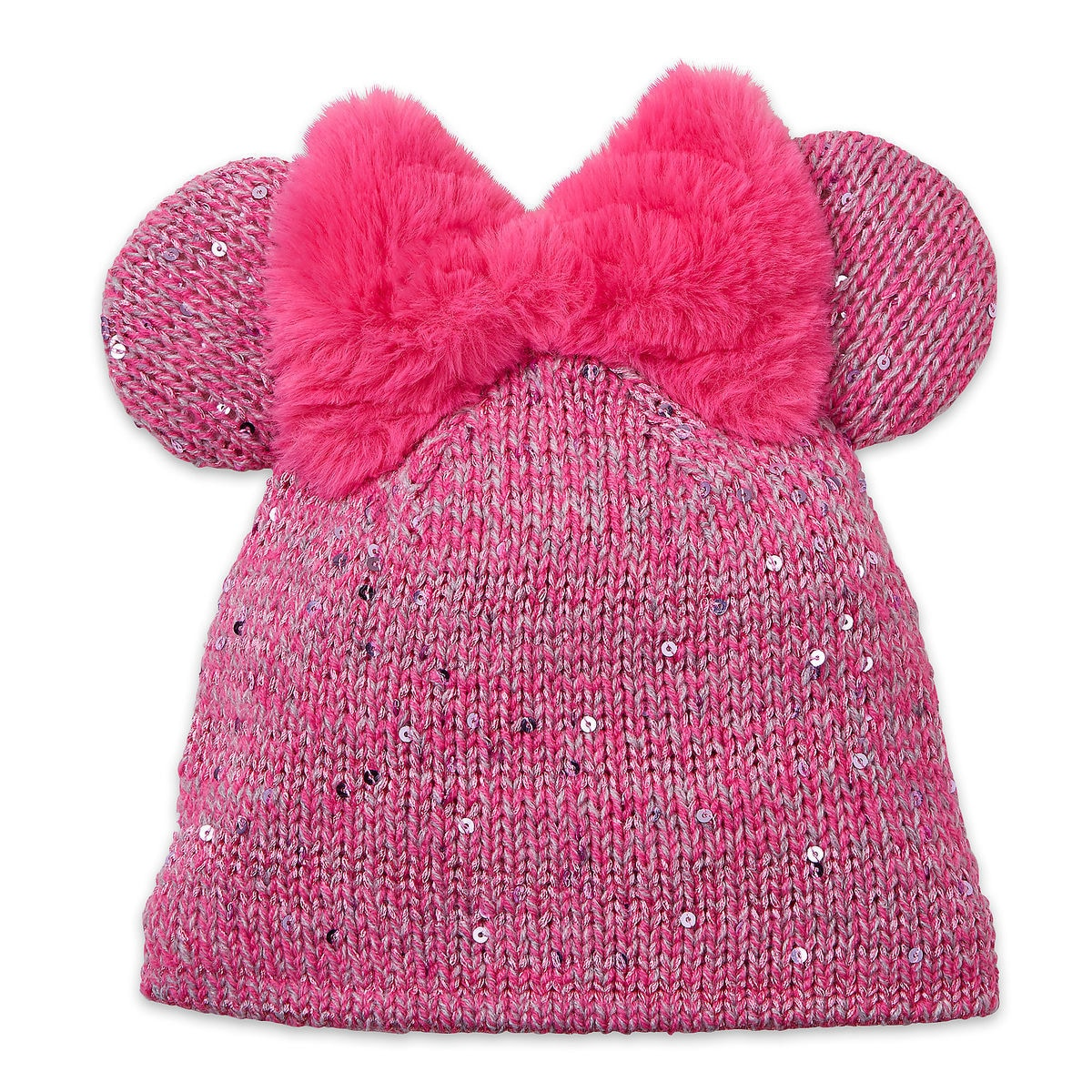 Minnie Mouse Knit Hat For Kids Shopdisney