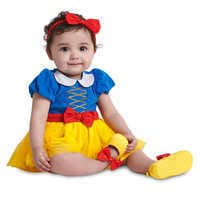 Image of Snow White Costume Bodysuit for Baby # 2
