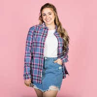Image of Bo Peep Flannel Shirt for Adults by Cakeworthy - Toy Story 4 # 5