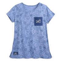 Image of Disneyland 2018 Pocket T-Shirt for Women # 1