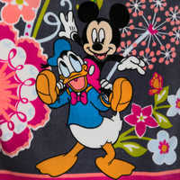 Image of Mickey Mouse and Friends Floral Beach Towel by Vera Bradley # 2