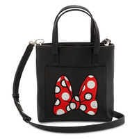 Image of Minnie Mouse Bow Crossbody Bag # 1