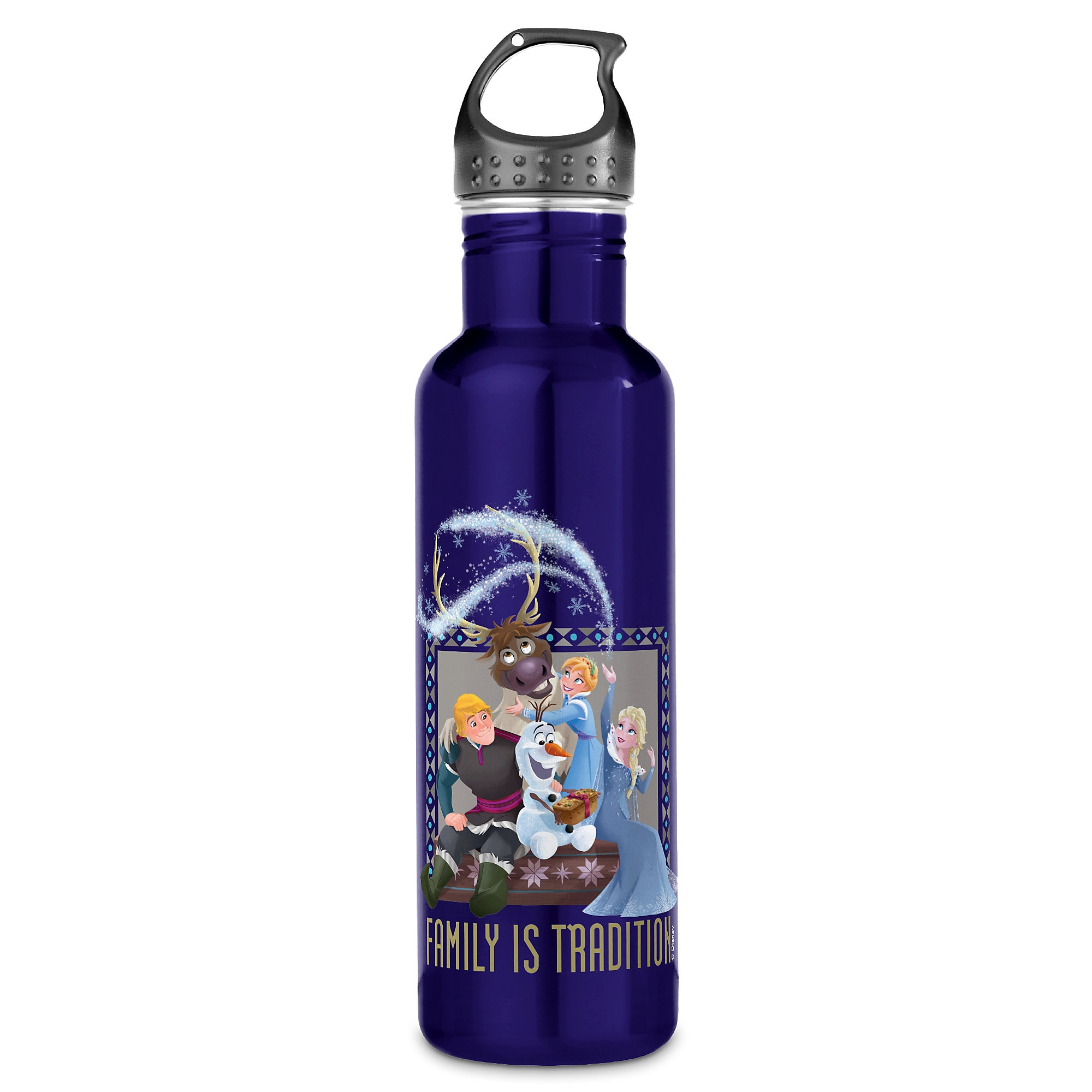 Olaf's Frozen Adventure Family is Tradition Water Bottle - Customizable