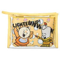 Image of Cogsworth and Lumiere Pouch Set - Beauty and the Beast # 1