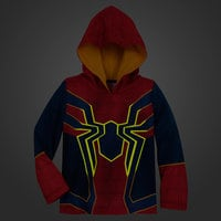 Image of Spider-Man Glow-in-the-Dark Costume Sleep Set for Boys # 3