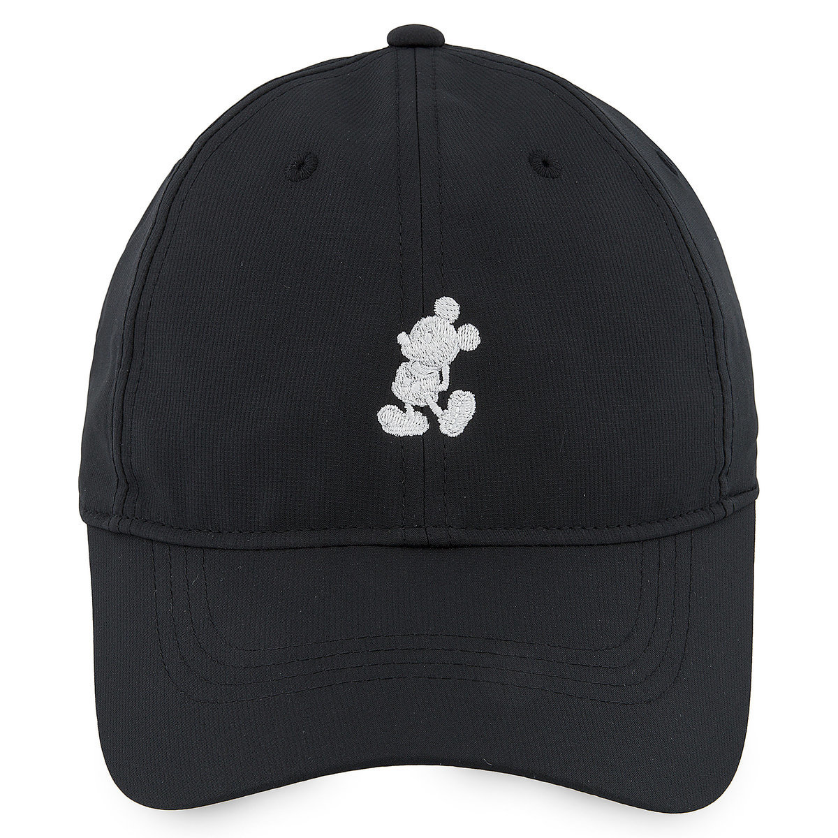 Mickey Mouse Silhouette Baseball Hat by Nike - Black | shopDisney