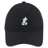 Mickey Mouse Silhouette Baseball Hat by Nike - Black