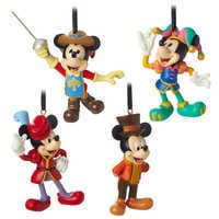 Image of Mickey Mouse Through the Years Mini Ornament Set 3 # 1
