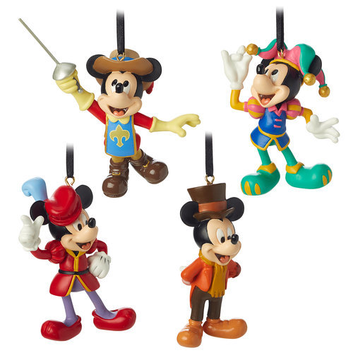 Mickey Mouse Through the Years Mini Ornament Set 3