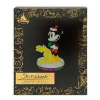 Image of Mickey Mouse Through the Years Sketchbook Ornament Set - Duck the Halls - December - Limited Release # 3