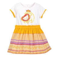 Image of The Lion King Woven Skirt Dress for Baby # 1