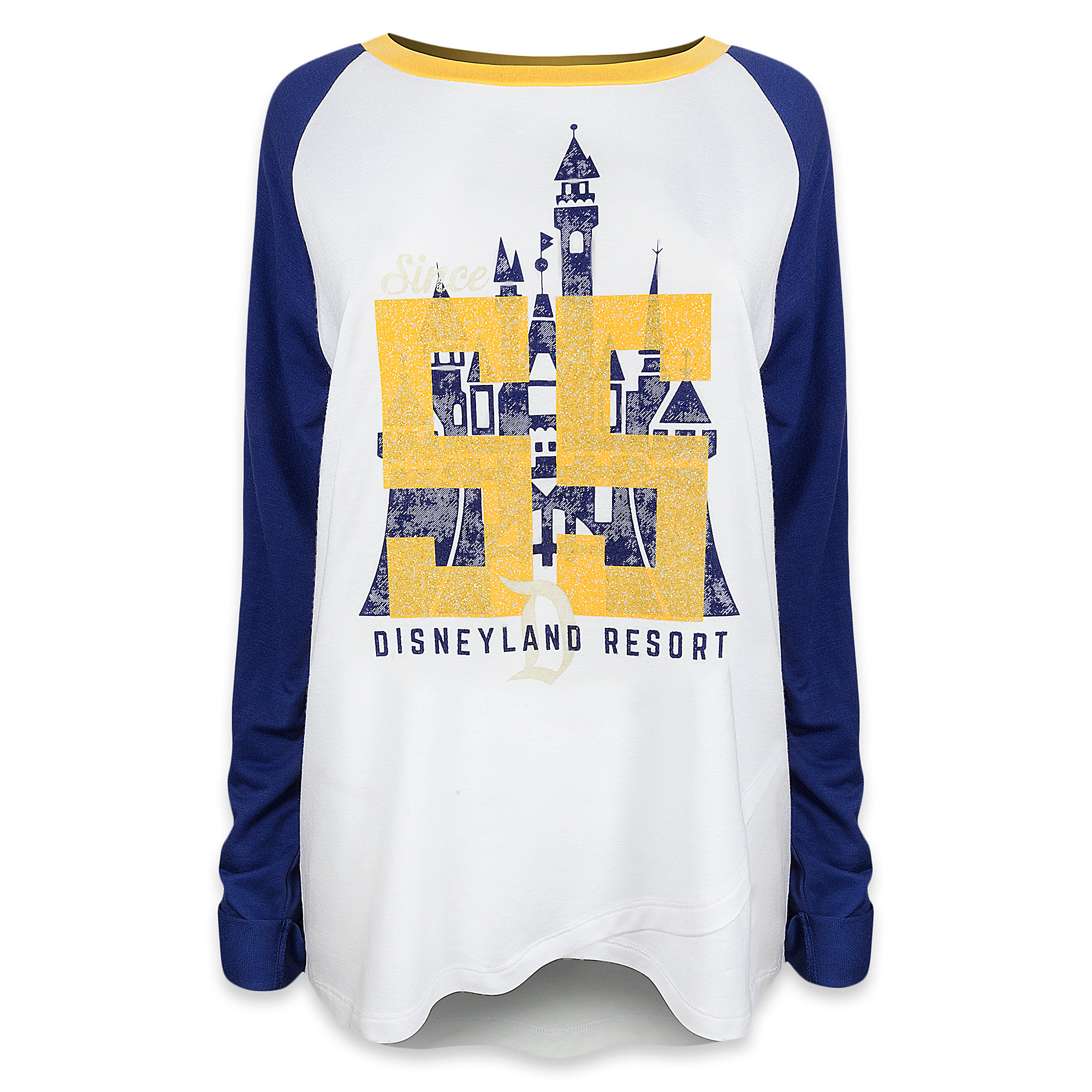 Disneyland Collegiate Raglan Top - Women
