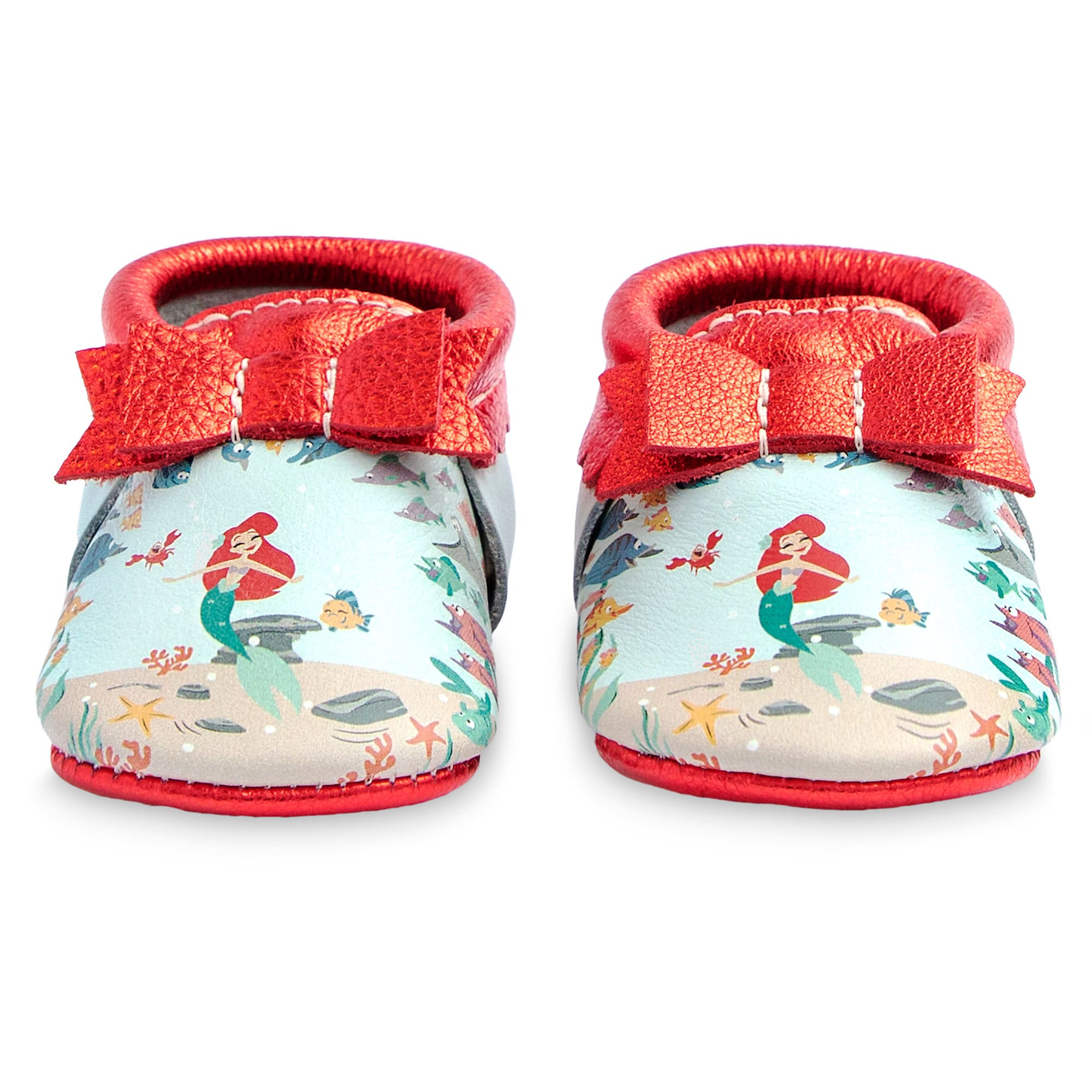 The Little Mermaid Moccasins for Baby by Freshly Picked