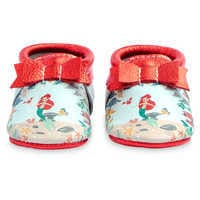 Image of The Little Mermaid Moccasins for Baby by Freshly Picked # 1