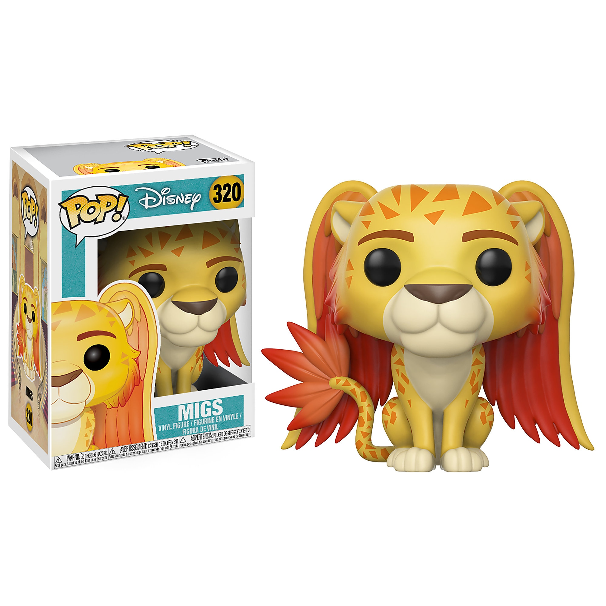 Migs Pop! Vinyl Figure - Elena of Avalor - Funko