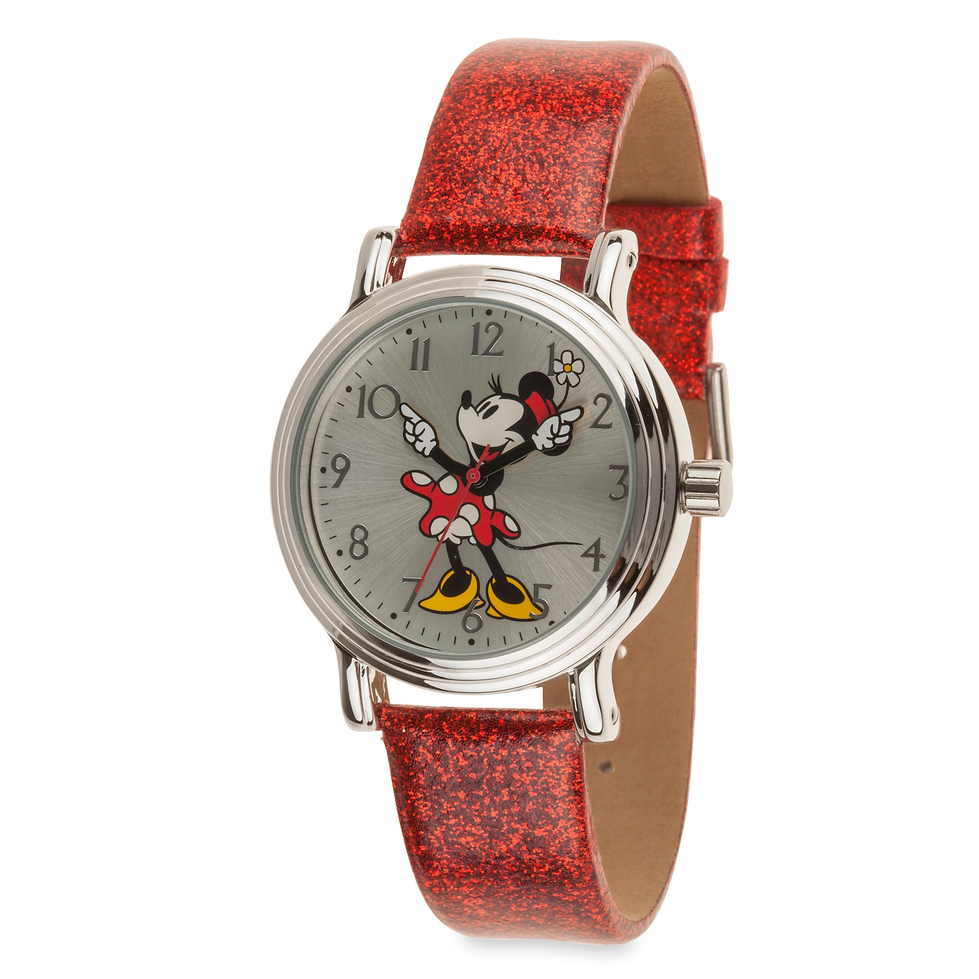 in gallery product leather accessories watches red britain steel burberry stainless strap watchred watch lyst silver