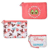Image of Mickey and Minnie Mouse Pouch Set # 1