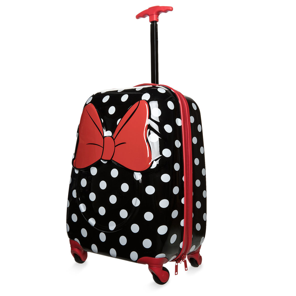 minnie mouse rolling luggage small shopdisney