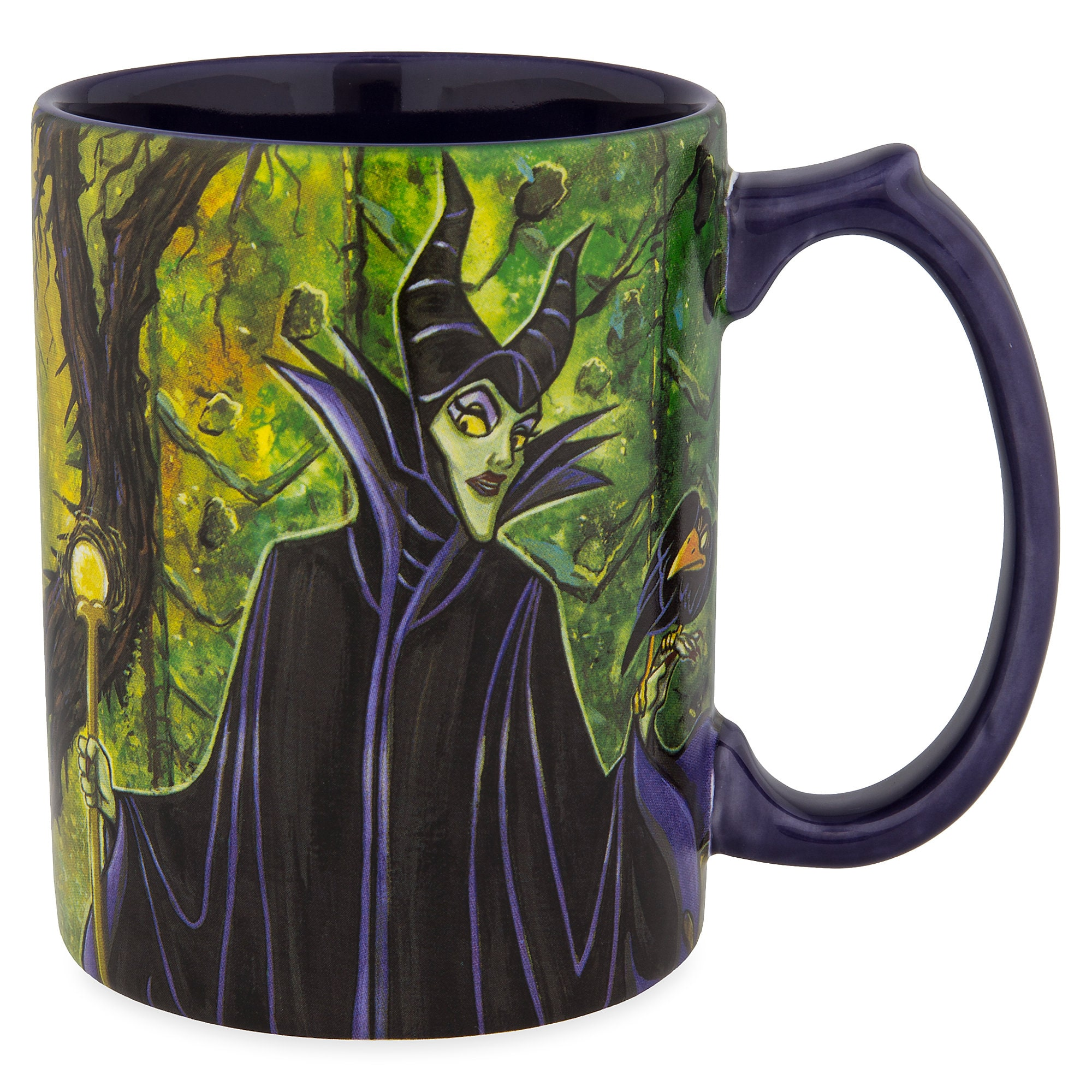 Maleficent Painting Mug