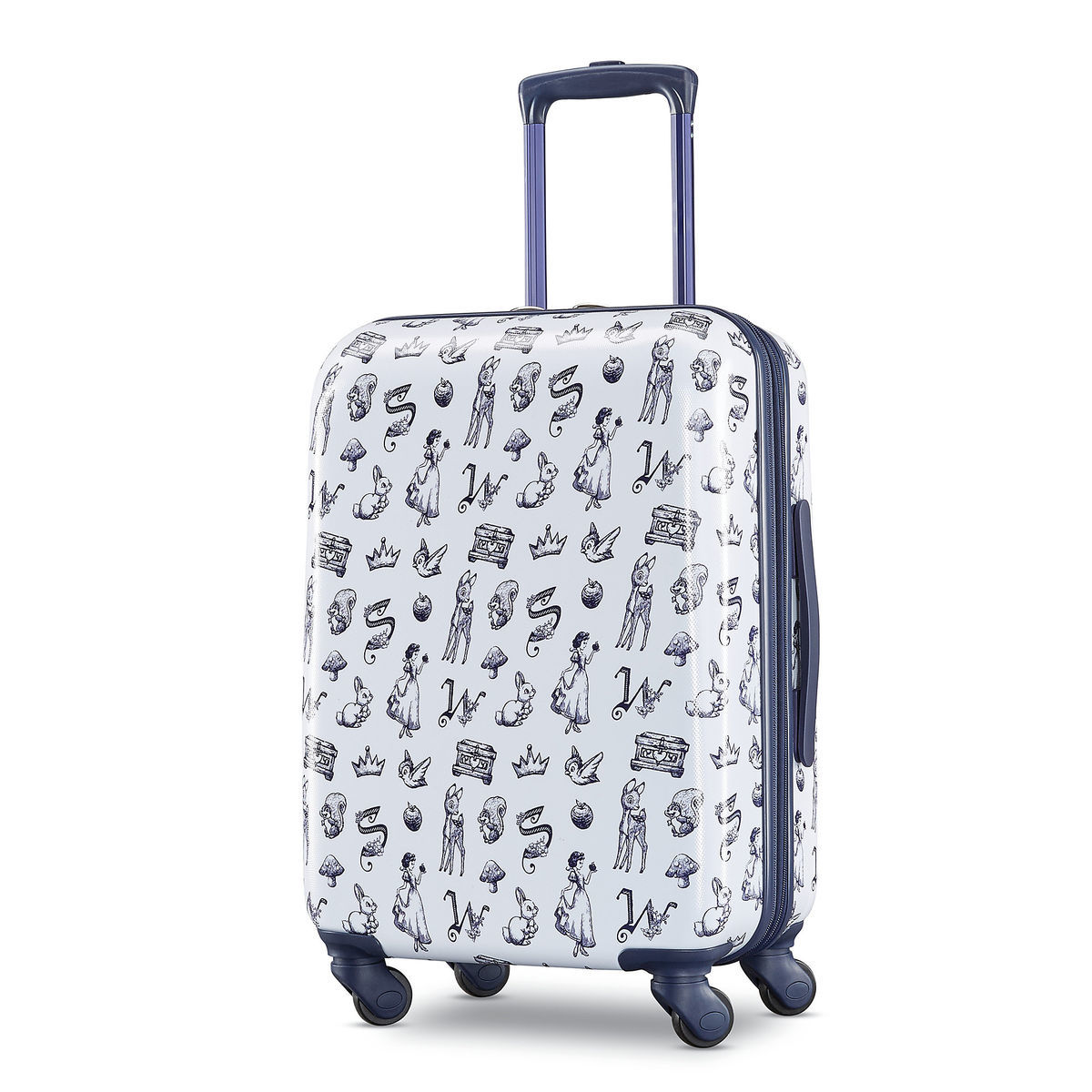 By Snow Small American Luggage Shopdisney Tourister Rolling White qTTrtp